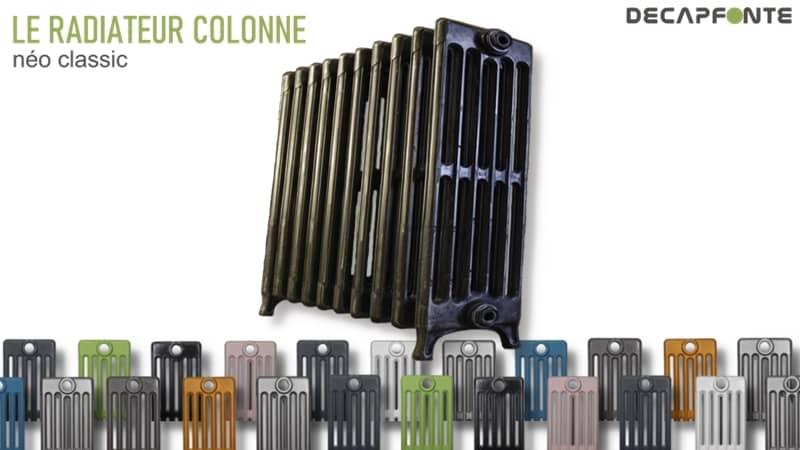 couleur radiateur fonte