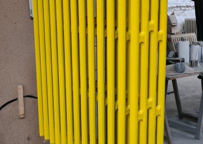 RAL 1023 jaune signalisation satiné