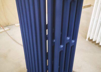 RAL 5003 bleu saphir mat