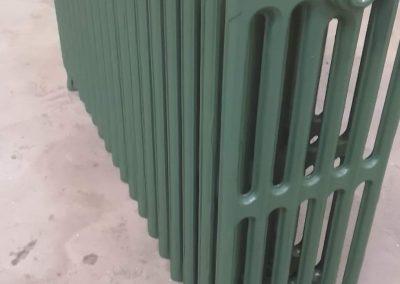 RAL 6028 vert pin satiné