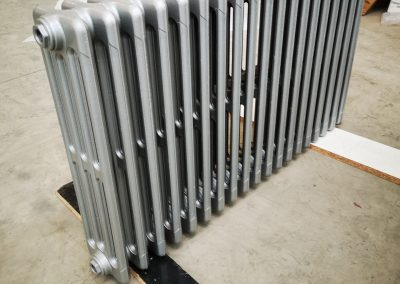 RAL 9006 aluminium blanc